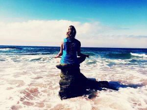 Margot Meditatie zee Spanje