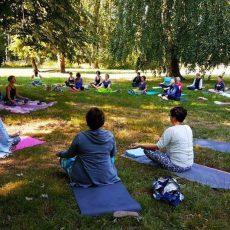 Internationale Yoga dag in Etten-Leur