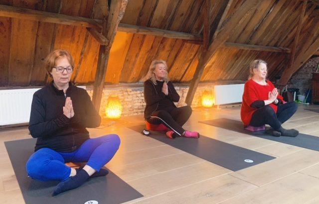 Yoga voor ouderen - 4 weekse cursus