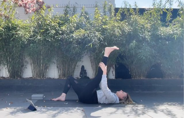 20 min. Yoga - Margot - 19 apr. 2021